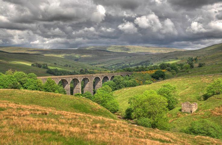 Ribblehead Viaduct near Carlisle UK.