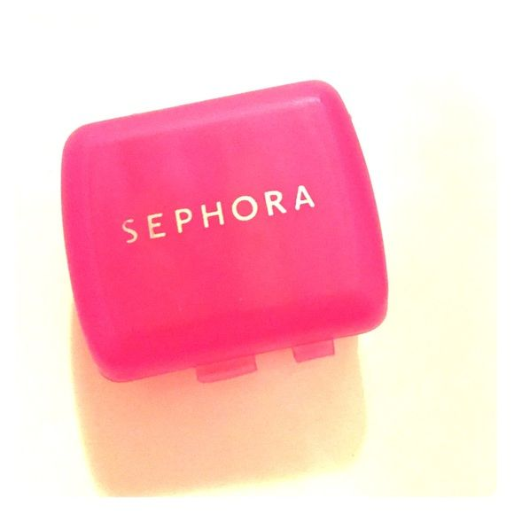 OBO$ Pink Sephora makeup sharpener  Pink Sephora makeup sharpener  fits two sizes. Brand new :) Sephora Makeup