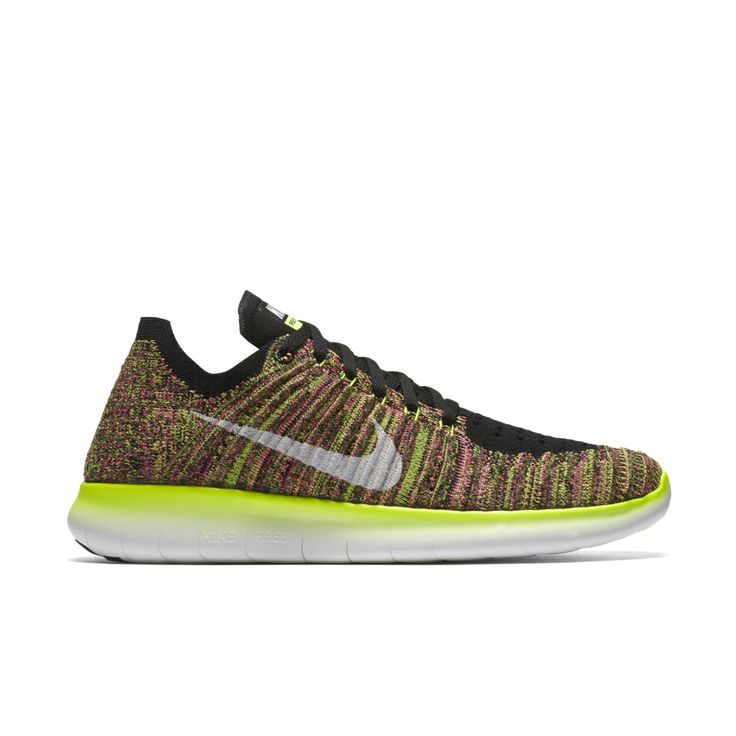 Nike Free RN Flyknit ULTD Womens Running Shoes 11 Multi-Color 843431 999 in  Clothing, Shoes & Accessories, Women's Shoes, Athletic