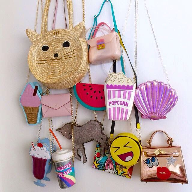 Novelty purse collection