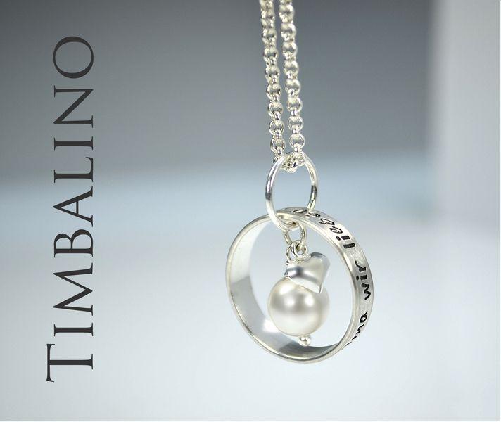 Namenskette+*+Familienring*++925+Silber+von+Timbalino-Bijoux+auf+DaWanda.com