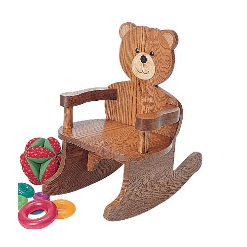 Teddy Bear Rocking Chair Plan - www.Rockler.com Woodworking Tools | Trælegetøj Lokomotiver ...