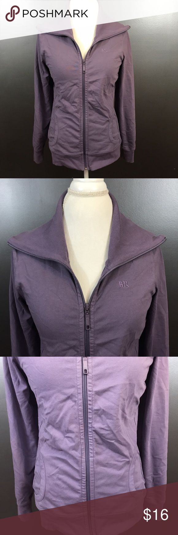 🇺🇸SALE🇺🇸Banana Republic Jacket Size Medium Women's size medium periwinkle purple Banana Republic stretch, zip up, collared jacket with front pockets. 92% cotton, 8% spandex. Banana Republic Jackets & Coats