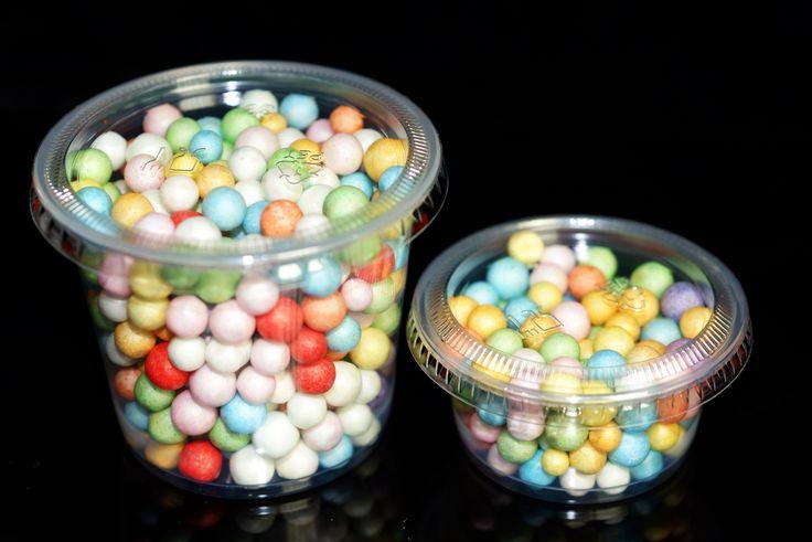 Rainbow Multi Color Mini Beads - Slimes & Floams - Large