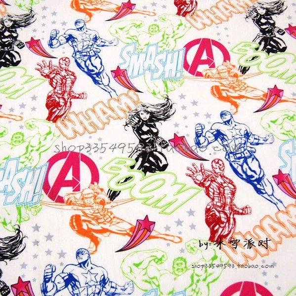 Avengers cotton 0,5 m wide