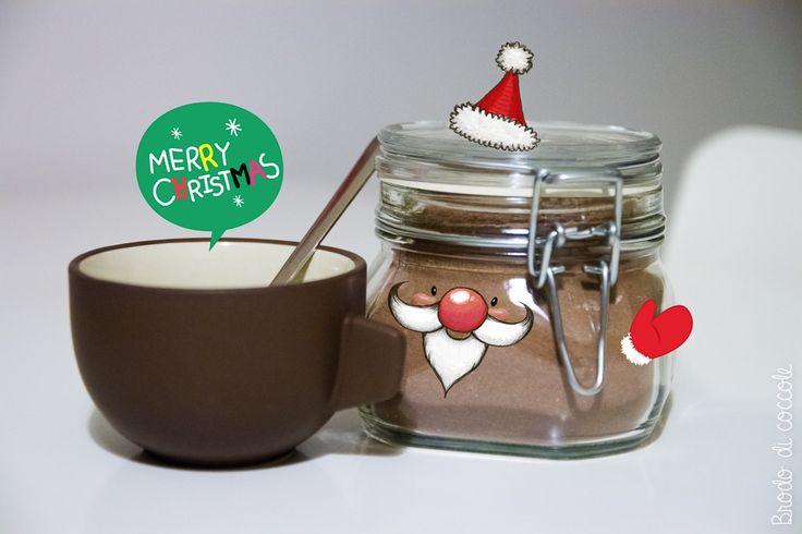 Preparato casalingo per cioccolata calda