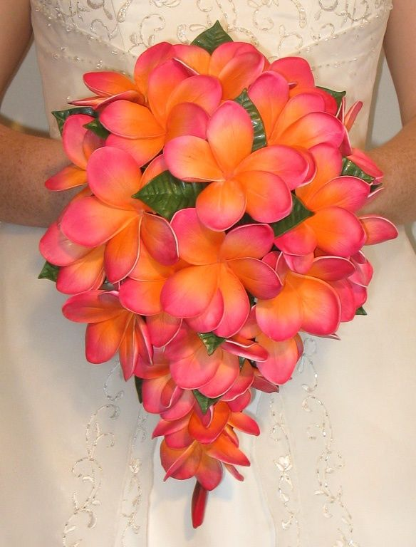 tropical bouquet! wedding. If you are having an island wedding this would be amazing!