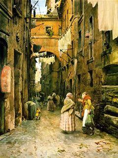 Via dei Cappellari - Ettore Roesler Franz
