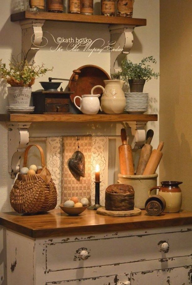 40 Inspiring Rustic Country Kitchen Ideas To Renew Your Ordinary