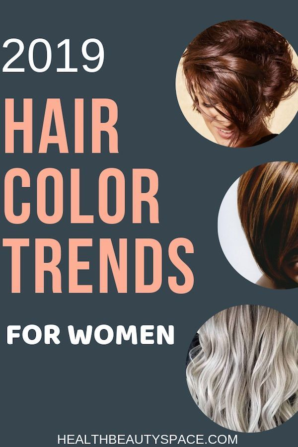 here s the hair color trends for 2019