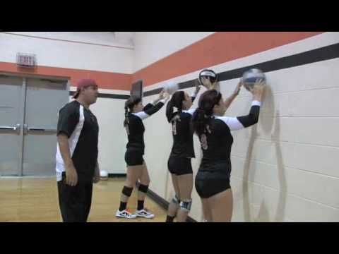 Volleyball Drills to do at Home – Video Examples | Get the Pancake