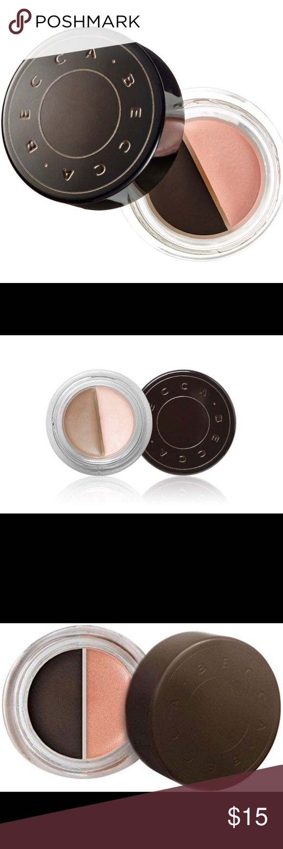 BECCA shadow and light brow contour mousse Brand New-COLORS:Mocha, Cocoa. BECCA Makeup Eyebrow Filler