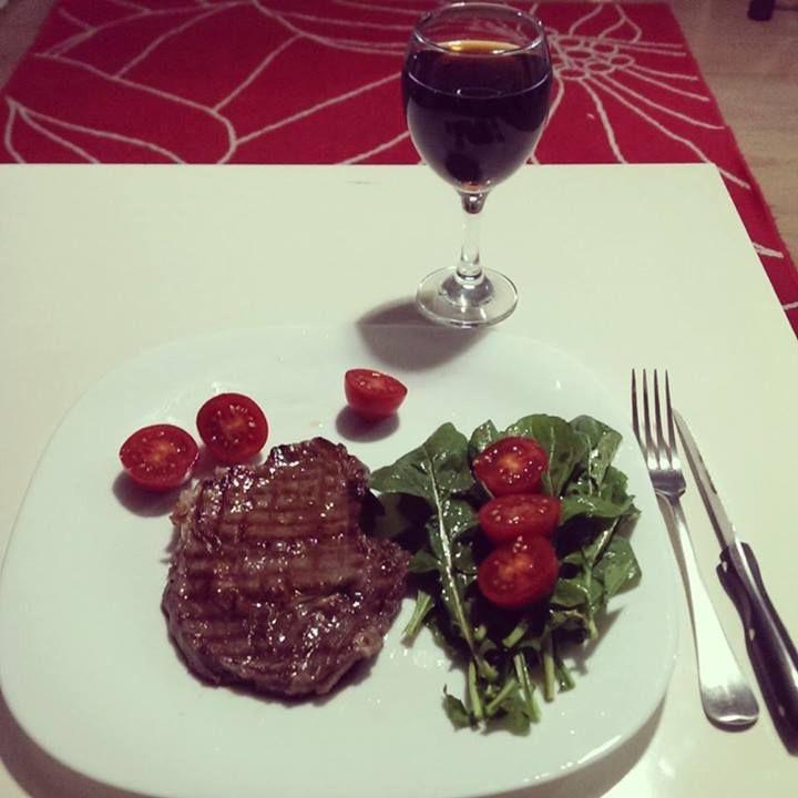 #beef #salad #biftek #salata #servis
