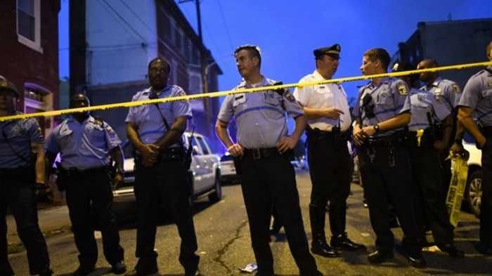 Philadelphia Shooting Suspect Surrenders To Police World News Today Police Officer Shot Police