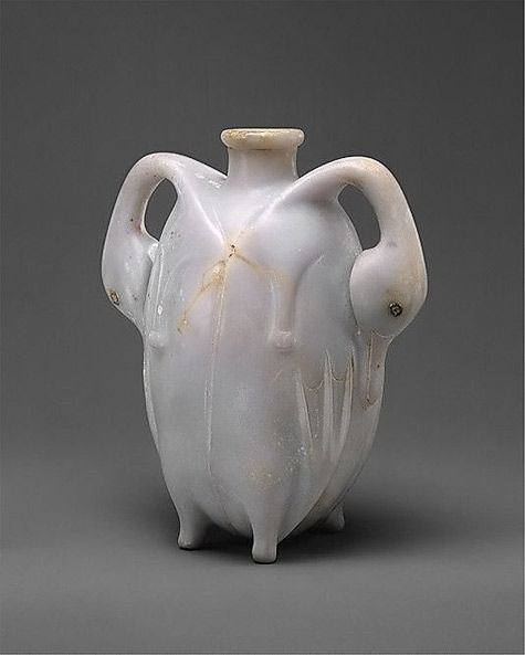 17th Dynasty Egyptian Perfume Vessel in the Shape of Two Trussed Ducks-found in upper Egypt(Thebes)