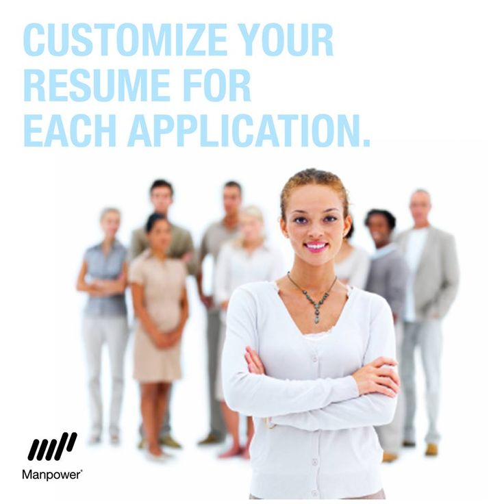 Career Tip: Customize your resume for each job you apply for. Talk the language of the hiring company. Review the job description to make sure you match up.