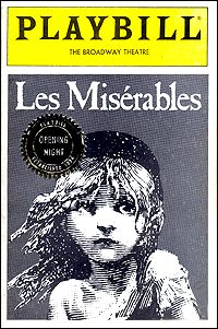 Les Miserables Playbills