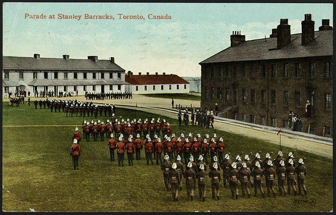 Fort York, 1910...