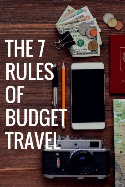 Want to save money and protect the environment while on vacation? Get eco-friendly and genuine travel experiences by following these 7 rules of budget travel | #travelhacks #backpackingtips #cheapvacation