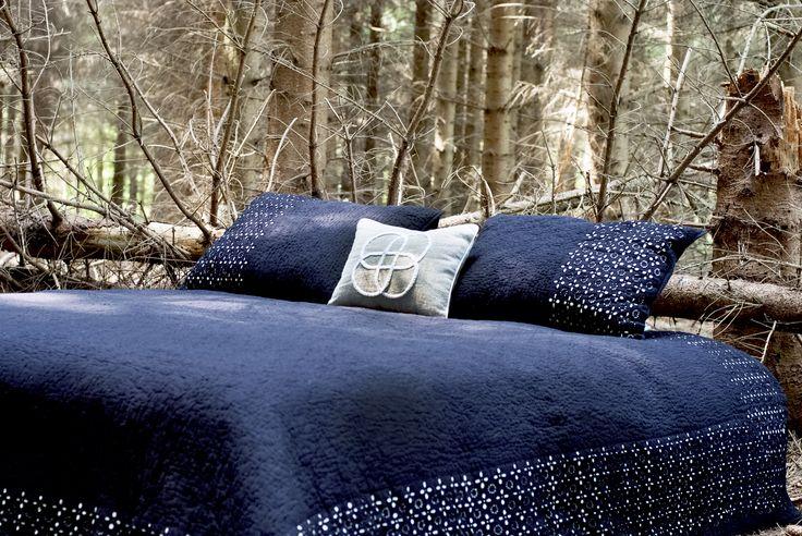 Nattehimmel sengetæppe