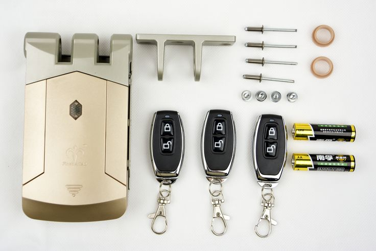 Wireless Electronic Deadbolt  Lockwith Keyfob Remote  #spain #madrid #barcelona #valencia #zaragoza #sevilla #bilbao #Gijon #Granada #Malaga #cerradura #cerrajero #cerrejeria #ferreteria