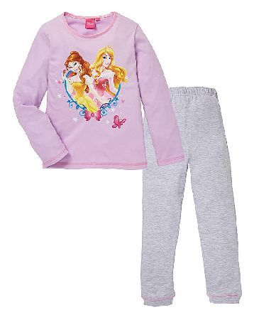 Disney Princess Girls Long Sleeve Pyjama Disney Princess PJs. Your little one wont be able to wait to put on her disney princess long sleeve pyjamas and get into bed. These comfy pyjamas are made from soft cotton with grey long pants and a p http://www.MightGet.com/january-2017-13/disney-princess-girls-long-sleeve-pyjama.asp