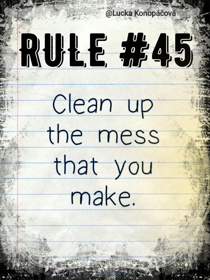NCIS Gibbs rule #45