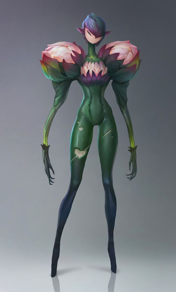 Character design by Anna Maystrenko, via Behance