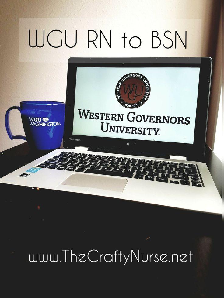 WGU RN to BSN Review Rn bsn, Nursing school