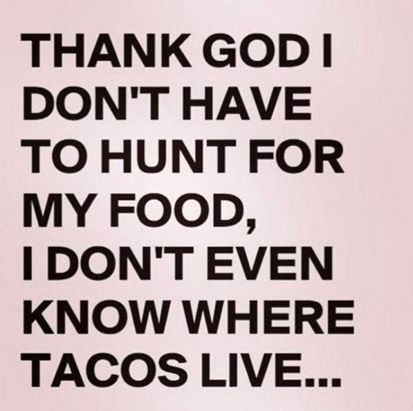 Where do tacos grow?