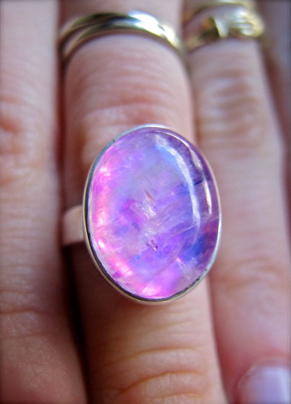 Hey, I found this really awesome Etsy listing at http://www.etsy.com/listing/152453676/rare-pink-moonstone-oval-ring