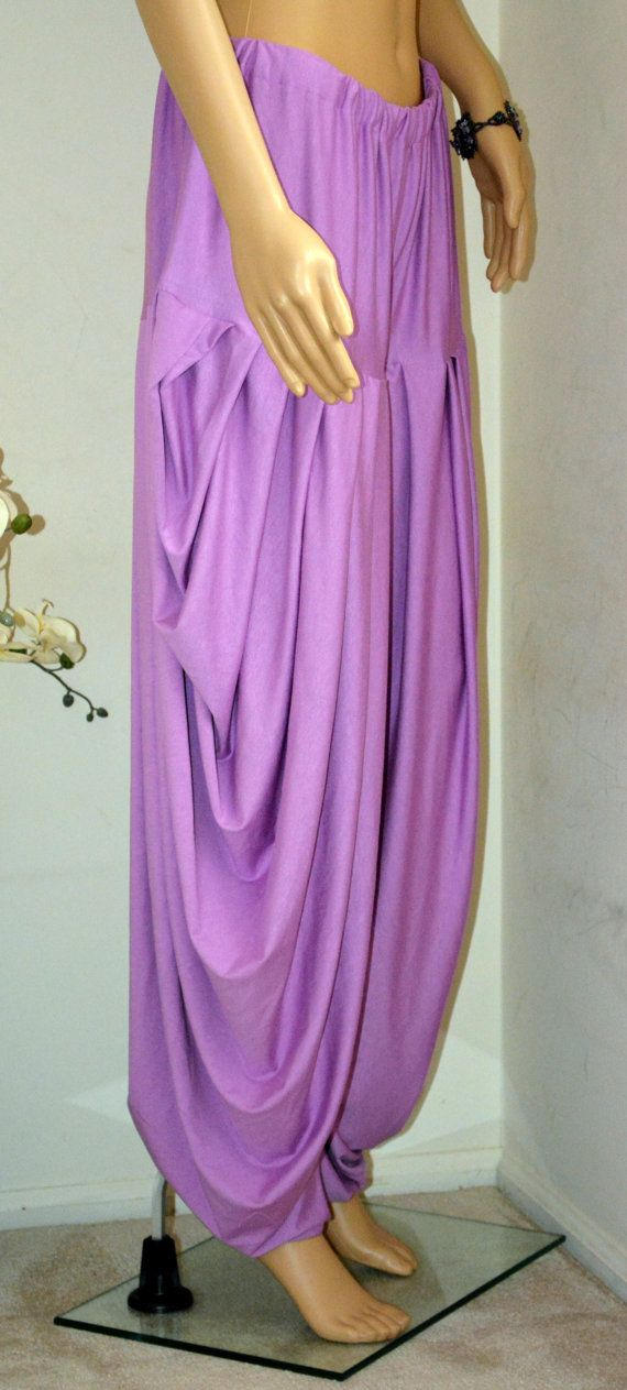Hey, I found this really awesome Etsy listing at https://www.etsy.com/listing/206587871/topsycurvy-beautiful-purple-hareem-pants