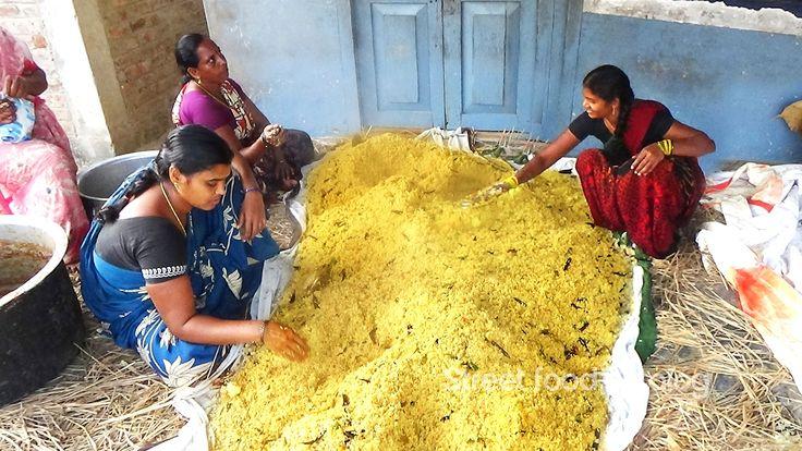 Amazing Cooking Tamarind Rice Prepared 1000 People Hindu Function || Str...
