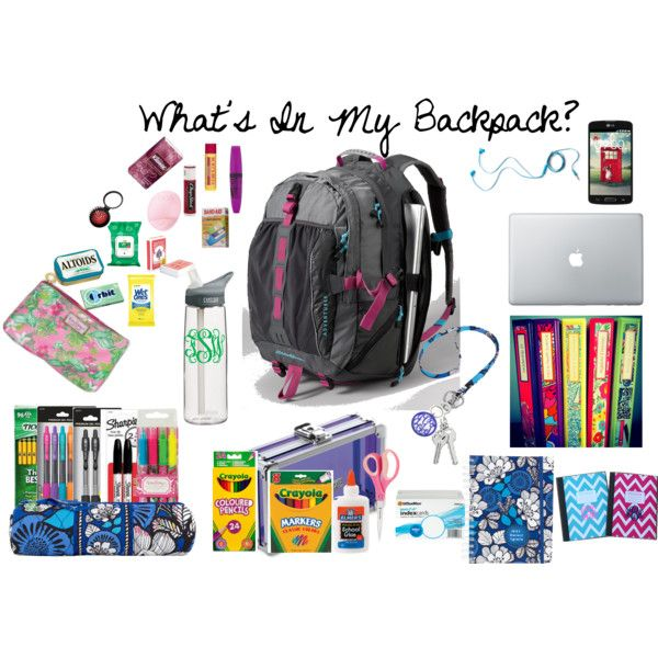 """""""What's in My Backpack?"""""""