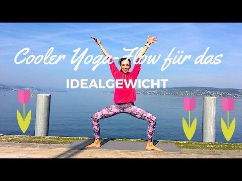 Cooler Yogaflow für das Idealgewicht | Slim Yoga