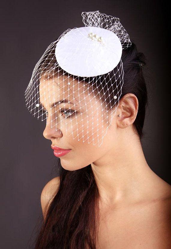 Bridal Hair AccessoriesSilk Mini by KasiaGirtler on Etsy, $63.00