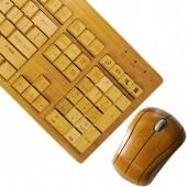 A Bamboo Keyboard!: Mice, Mouse, Wireless Keyboard, Impecca, Bamboo Keyboard