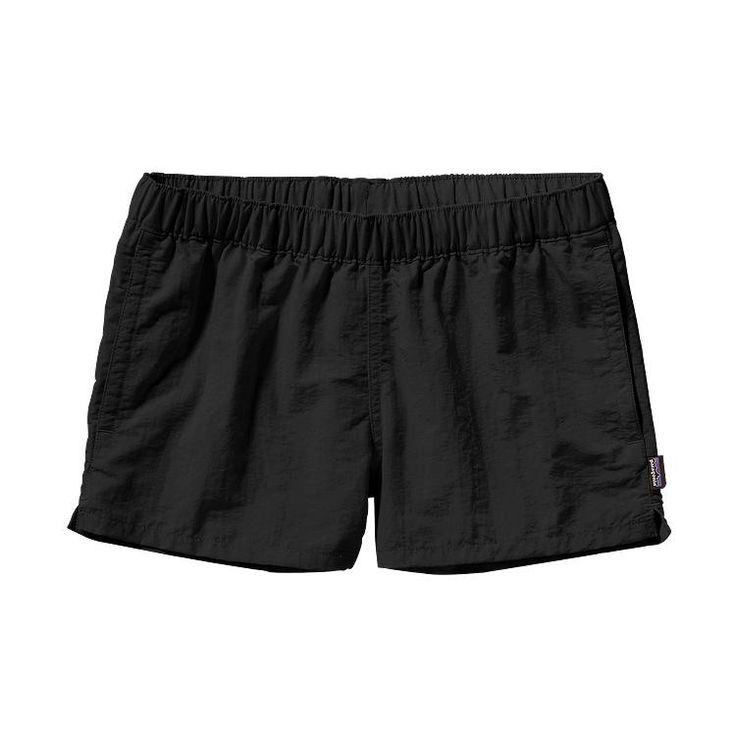 "Patagonia Women's Barely Baggies 2.5"" Shorts- Black from Shop Southern Roots TX"