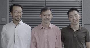 Joy Aether founders Ricky Lui, Leo Lau, Stanley Lam