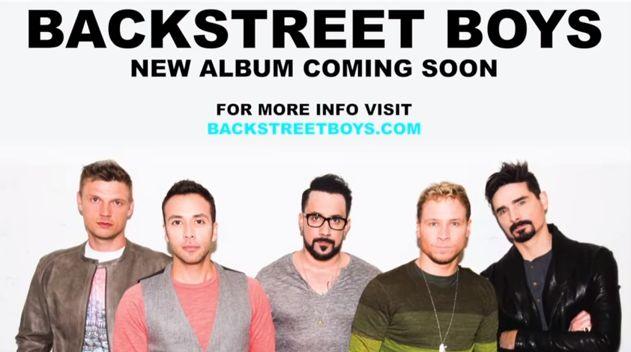 Listen: Backstreet Boys Sneak Peak From Upcoming Album