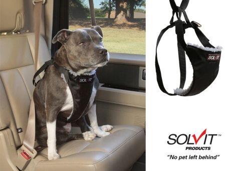 Image of Standard Car Safety Dog Harness by Solvit