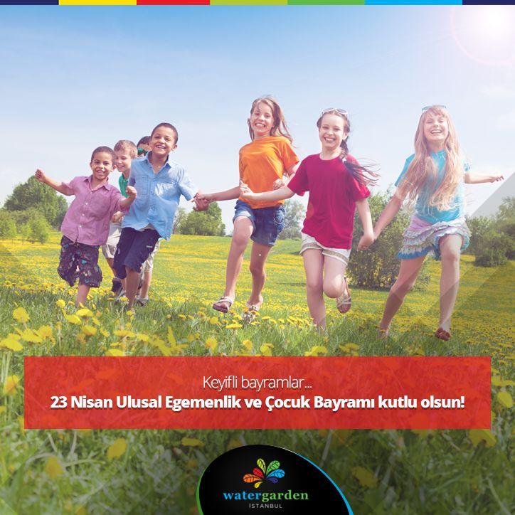 Keyifli bayramlar... #watergardenistanbul #23nisan #çocukbayramı #eğlence #keyif #çocuk #watergardenist #bayram