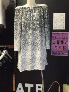 Lilly whyte Black & White splatter tunic #pattern #top #dress #appletreeboutique www.appletreeboutique.com.au FREE EXPRESS shipping on all orders over $50!