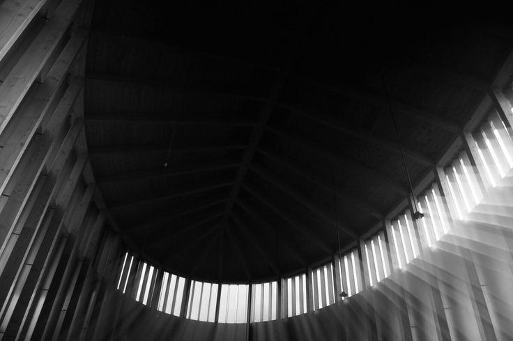 Kirchenfenster b&w