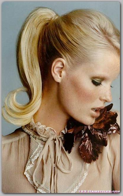 love a good high ponytail