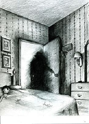 The Shadow People (also known as shadow ghosts, shadow figures, shadow beings, shadow men, or shadow folk) are supernatural shadow-like humanoid figures that, according to believers, are seen mostly in peripheral vision. They are commonly regarded in modern folklore and paranormal popular culture as malicious or evil spirits.