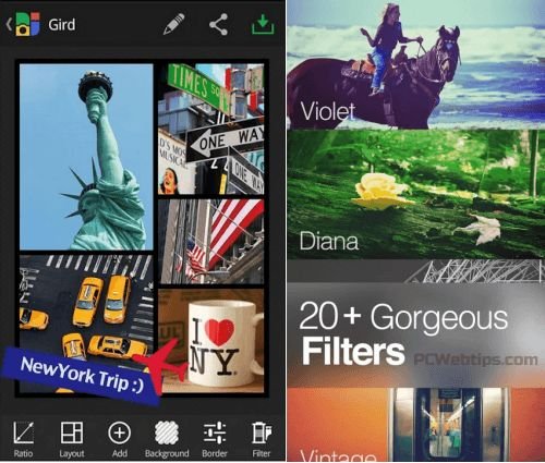 5 Aplicaciones para hacer collages desde tu Android