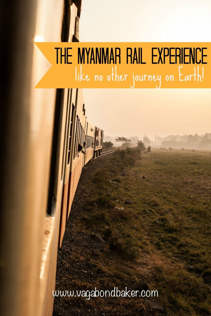 The unique Myanmar rail experience // Burma // train
