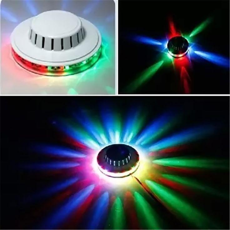 Mini Laser Stage Light Little Led KTV Lighting Sunflower Sun Bar Lights Disco Ba…