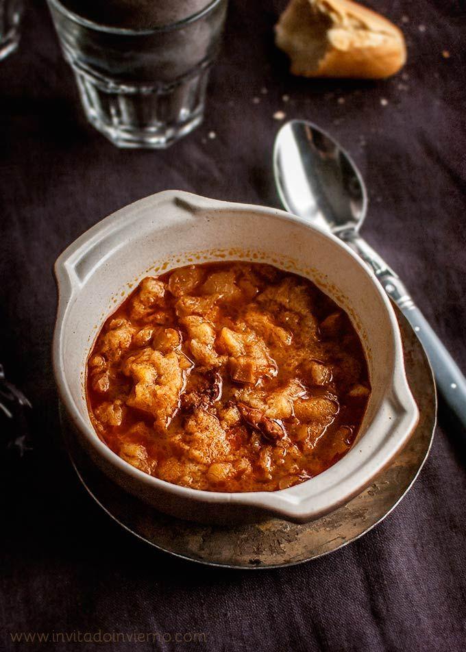 Sopa de ajo o castellana | Recetas con fotos El invitado de invierno